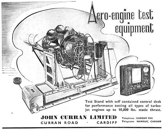 John Curran Aero-Engine Test Equipment. 1950