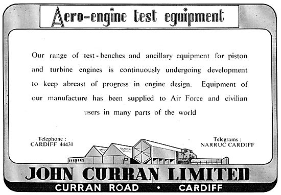John Curran Cardiff - Aero Engine Test Equipment