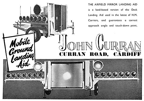 John Curran Airfield Mirror Landing Aid