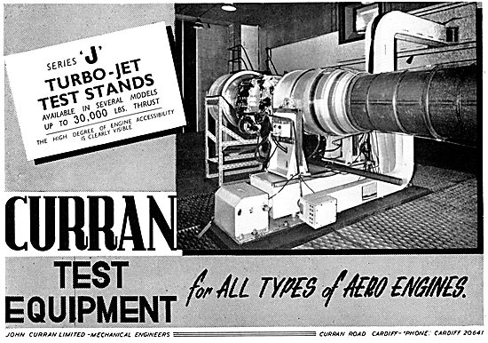 Curran Aero Engine Test Equipment 1957