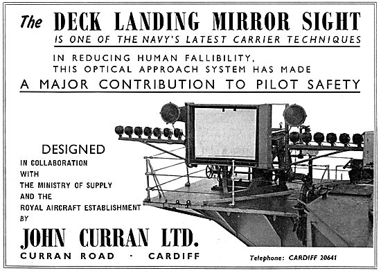 Curran Deck Landing Mirror Sight