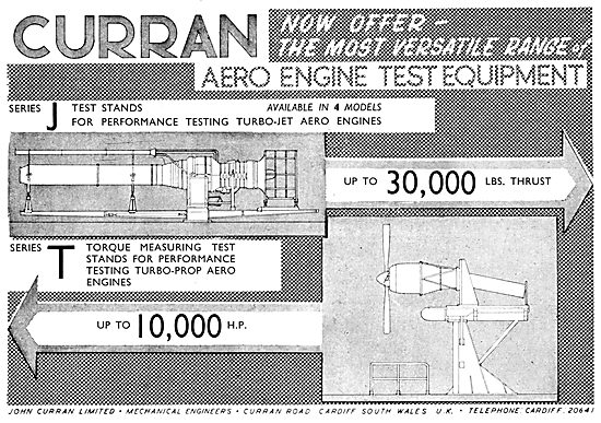 Curran Aero Engine Test Equipment