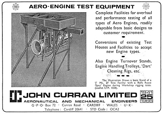 John Curran Aero Engine Test Equipment