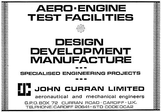 John Curran Aero-Engine Test Equipment