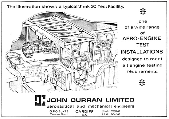 John Curran Engine Test Equipment