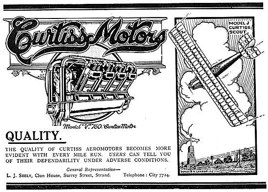 Curtiss V160 Aeroplane Motor