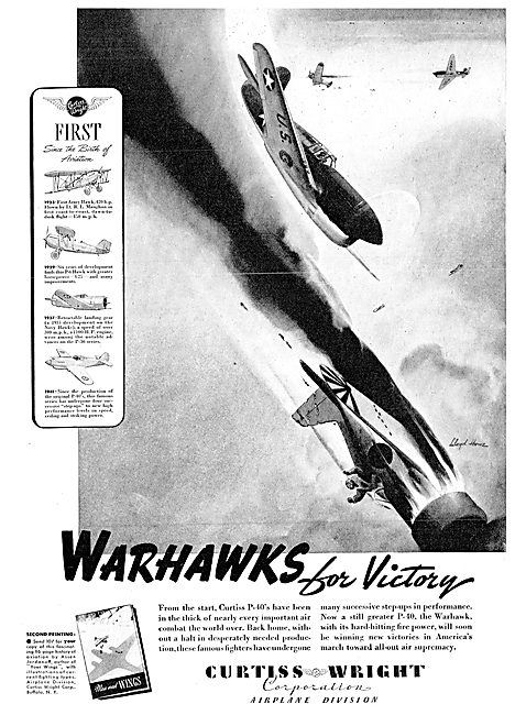 Curtiss-Wright P40 Warhawk