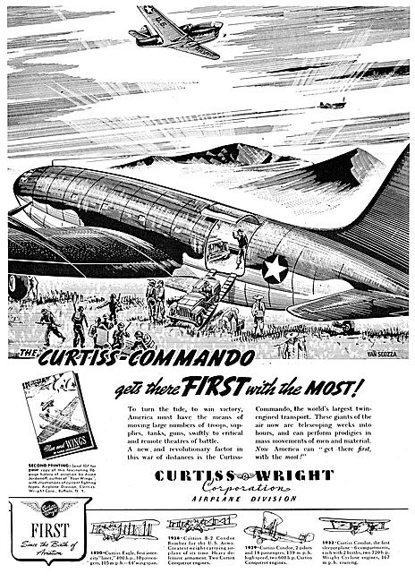 Curtiss-Wright C46 Commando