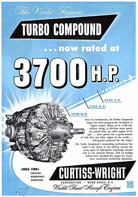 Curtiss-Wright Turbo Compound Aero Engines