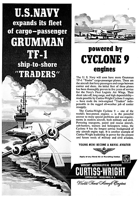 Curtiss-Wright Cyclone 9 Engines