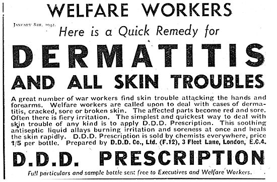 Prevent Dermatitis With DDD Prescription