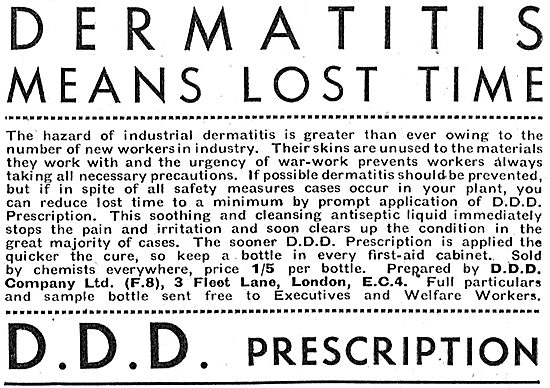 D.D.D. Prescription Dermatitis Prevention