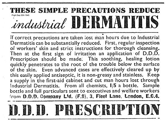 Prevent Dermatitis With D D D Prescription.