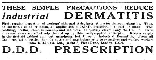 D.D.D. Prescription Dermatitis Prevention