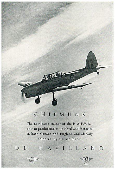 De Havilland Canada DHC1 Chipmunk