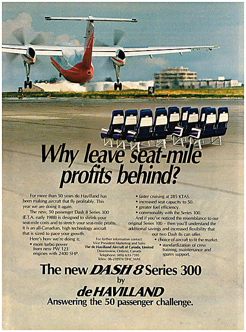 De Havilland Canada DHC Dash 8 Series 300