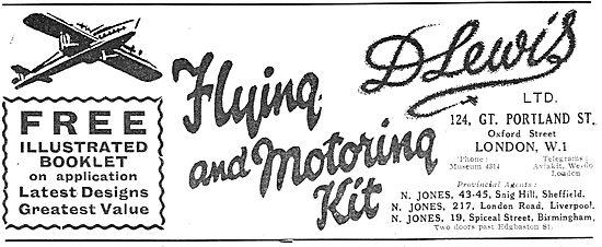 D Lewis Aviator's Kit