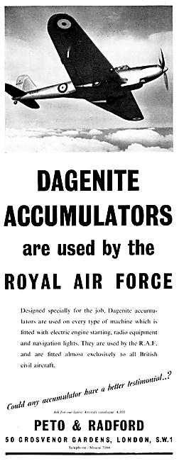 Dagenite Accumulators Dagenite Batteries. Trolley-Acc