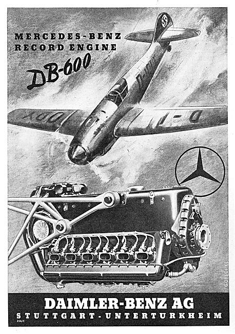 Daimler-Benz DB-600 Aero Engine.