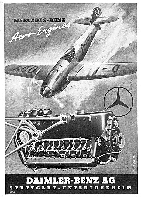 Daimler-Benz - Mercedes Benz Aero Engines