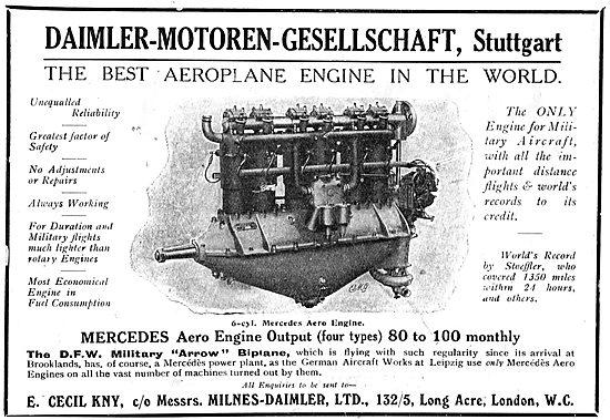 Daimler-Motoren-Gesellschaft Mercedes Aero Engines