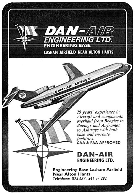 Dan-Air Engineering Lasham