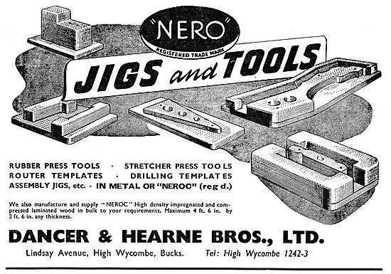 Dancer & Hearne Jigs, Tools & Presses