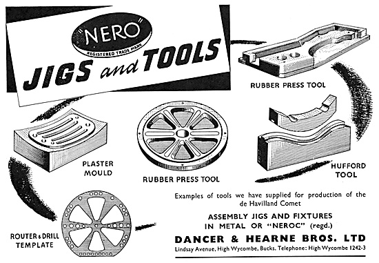 Dancer & Hearne Nero Jigs & Tools 1952