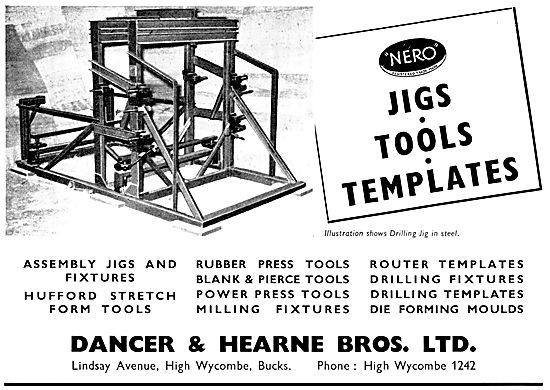 Dancer & Hearne Aircraft Assembly Jigs, Tools & Templates