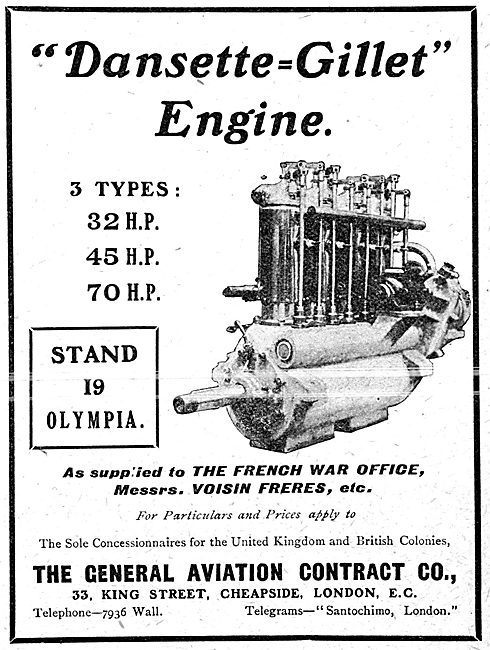 Dansette-Gillet Aero Engines