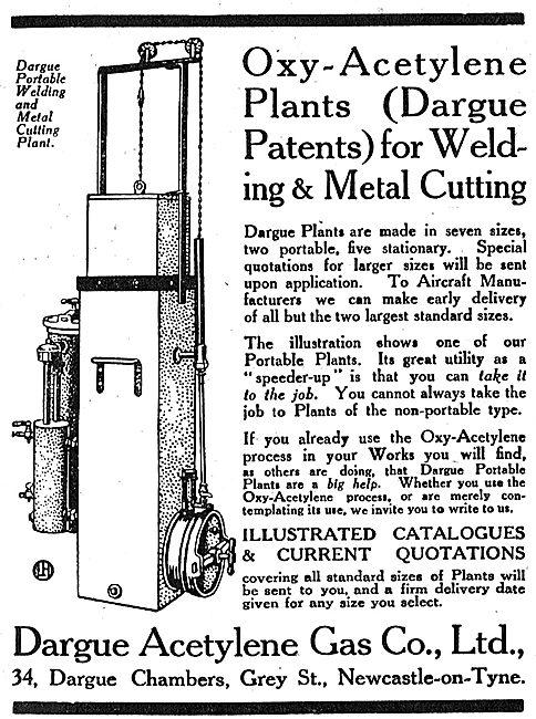 Dargue  Acetylene Gas Plants
