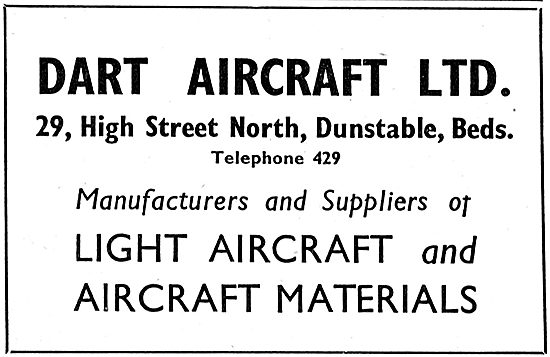 Dart Aircraft - Dunstable Beds