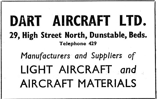 Dart Aircraft - 29 High Street North, Dunstable Beds