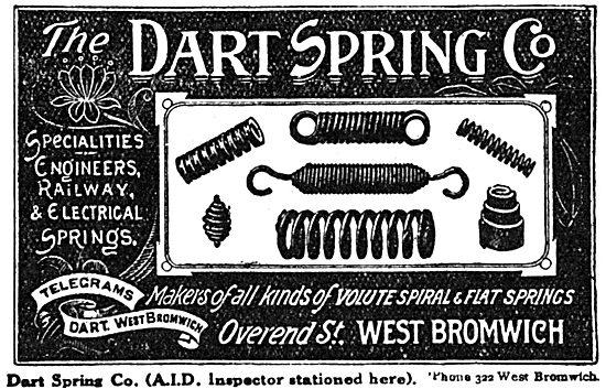 Dart Spring Co. Springs