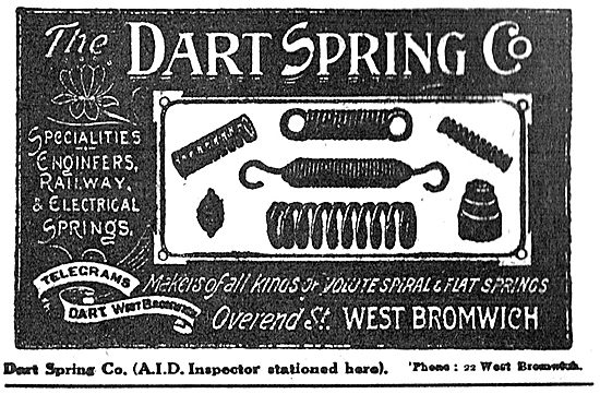 Dart Spring Co. West Bromwich