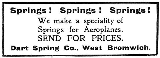Dart Spring Co. 1918 Advert