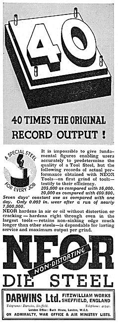 Darwins Neor Steel Tools