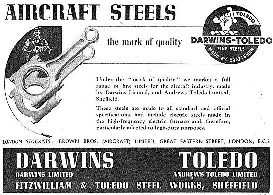 Darwins-Toledo Aircraft Steels