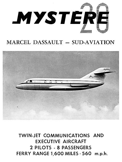 Dassault Mystere 20