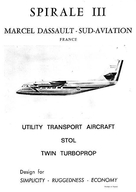 Marcel Dassault - Sud Aviation Spirale III