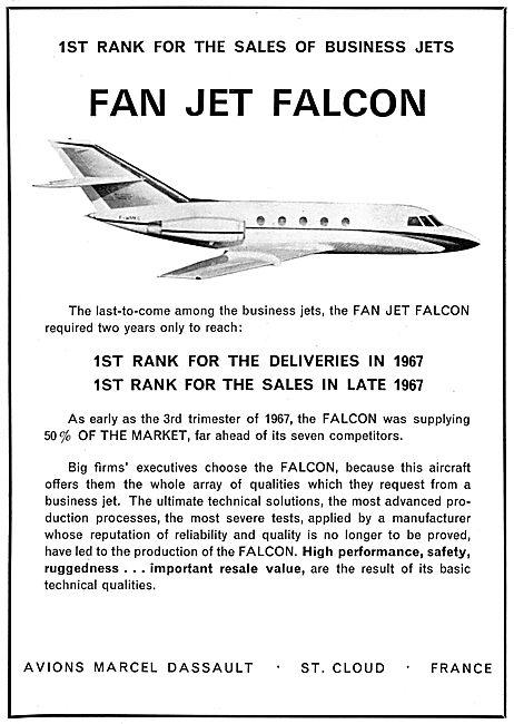Dassault Fan Jet Falcon
