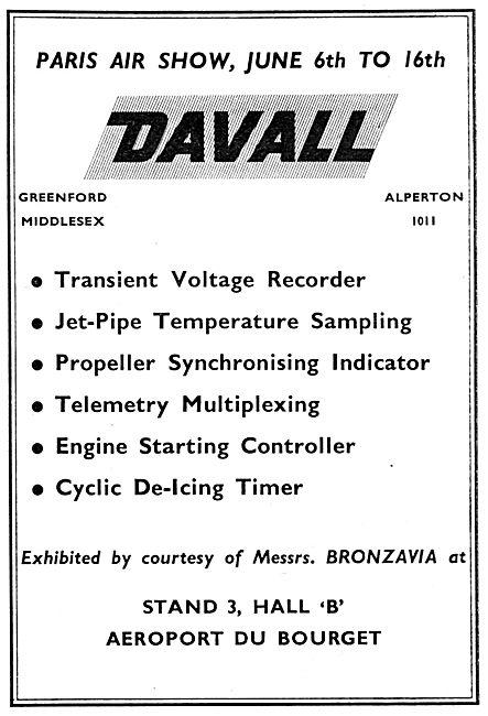 Davall Precsion Instruments & Controls