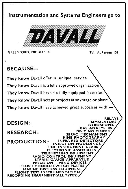 Davall Precision Instrumentation Engineers & Controls
