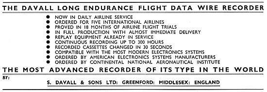 Davall Flight Data Recorders