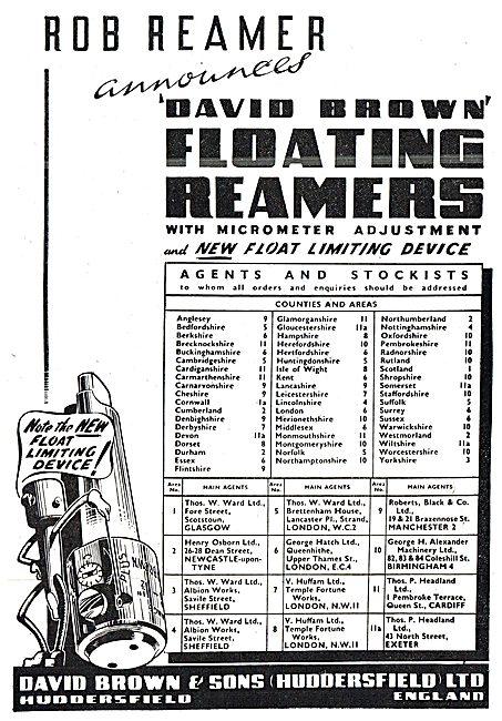 David Brown Floating Reamers