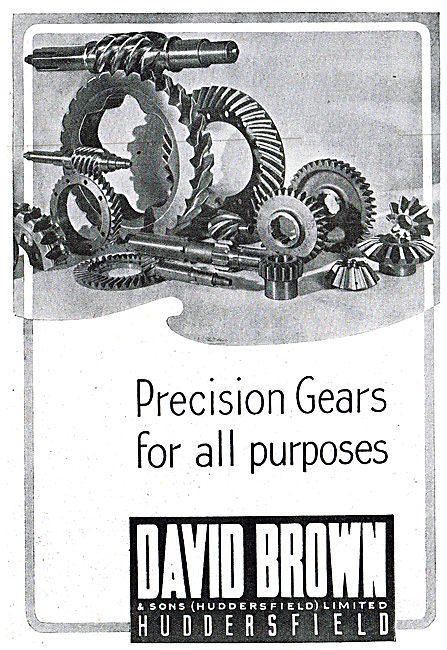 David Brown Precision Gears