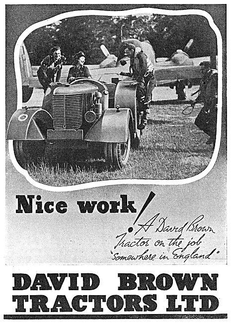 David Brown Tractors - Aircraft Tugs