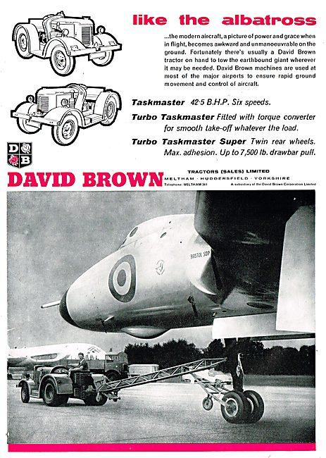 David Brown Taskmaster & Turbo Taskmaster Aircraft Tugs