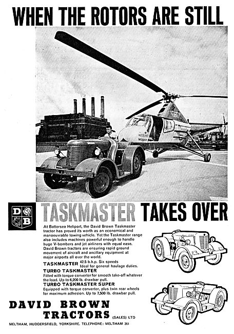 David Brown Turbo Taskmaster Super Aircraft Tug