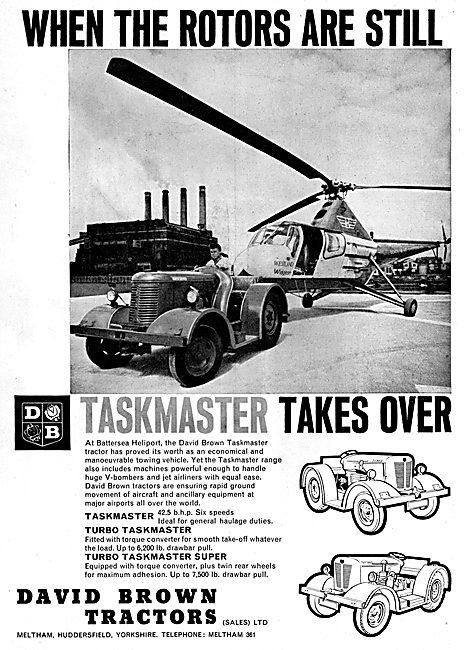 David Brown TASKMASTER Airfield Tractors